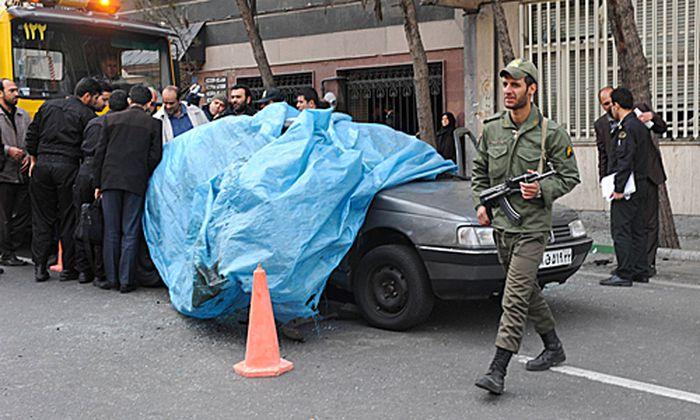 Iran Autobombe toetet fuehrenden