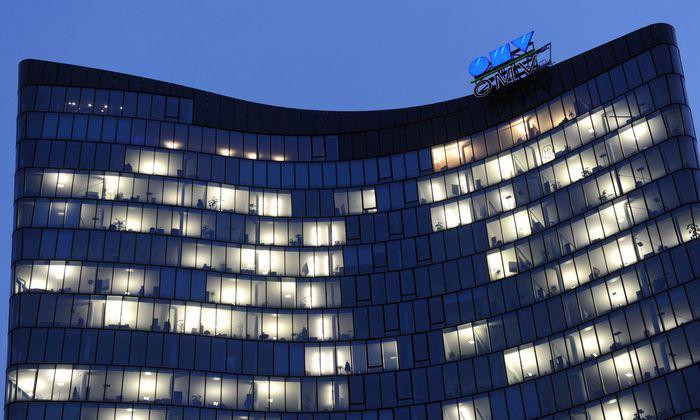 OMV-Gebäude in Wien.