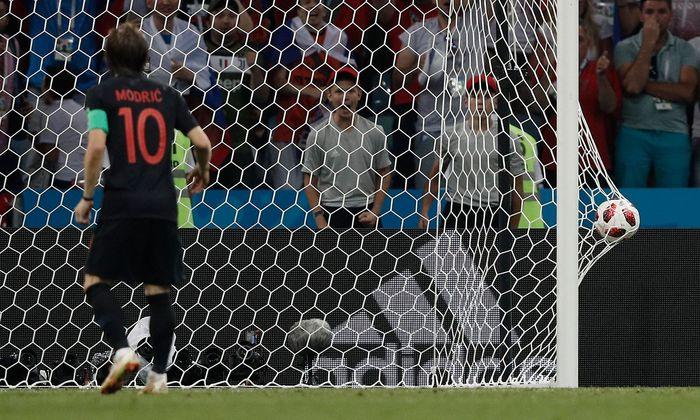 Kroatiens Luka Modric, eingenetzt gegen Russland.