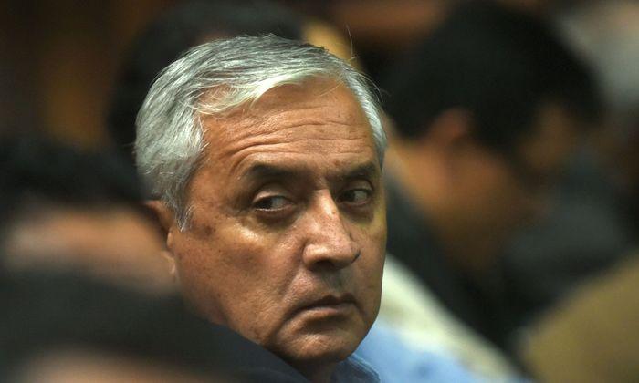 Otto Perez Molina war einst Guatemalas mächtigster Mann