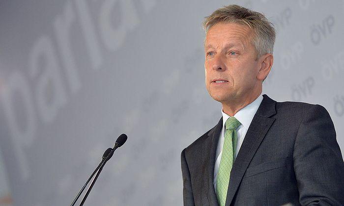 ÖVP-Klubchef Reinhold Lopatka