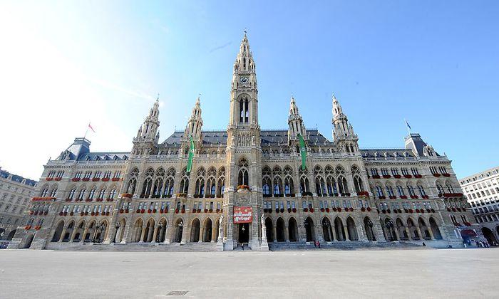 Archivbild: Das Wiener Rathaus, wo im Jänner der