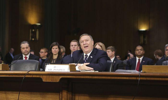 US-Außenminister Mike Pompeo den Vorladungen von Mitarbeitern seines Hauses durch die Demokraten im Repräsentantenhaus nicht Folge leisten
