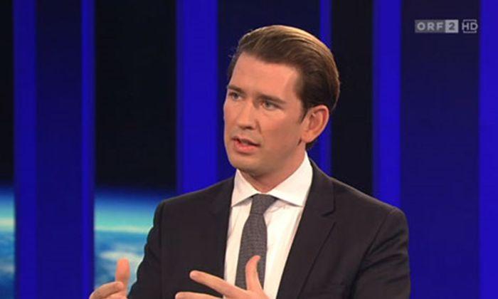 """Bundeskanzler Sebastian Kurz (ÖVP) erklärte in der """"ZiB 2"""" die Reformen der Regierung zur Mindestsicherung."""