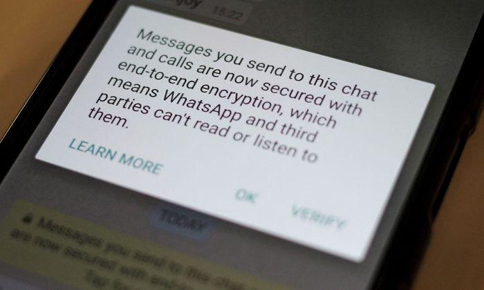 Symbolbild: Sicherheitshinweis von Whatsapp
