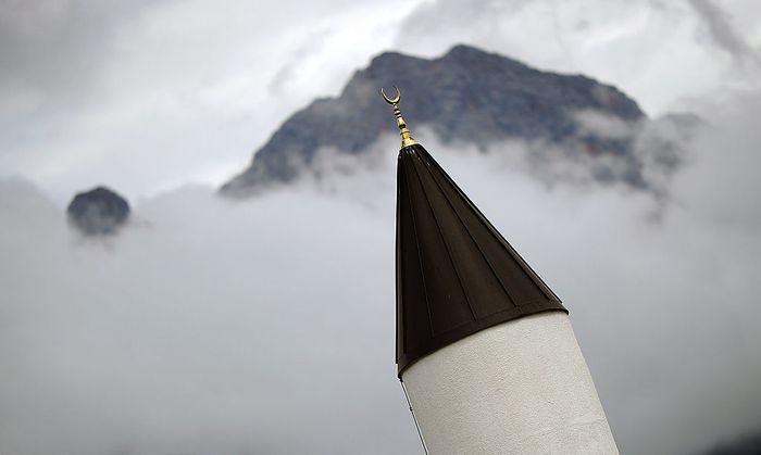 Symbolbild: Minarett der Moschee in Saalfelden