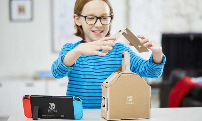 Analog trifft auf digital mit Nintendo Labo. Das System ist ausbaufähig.