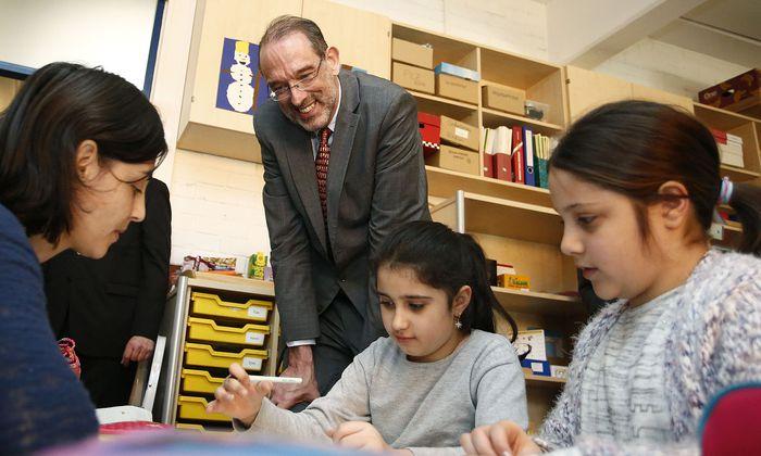 Bildungsminister Heinz Faßmann sieht wegen des Budgets keinen Anlass für Krisenstimmung.