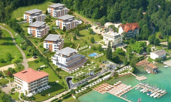 Werzer's****plus Hotel Garni Velden: Erste Fotos vom exklusiven Kaerntner Verwoehnhotel am beruehmten Woerthersee Seecorso