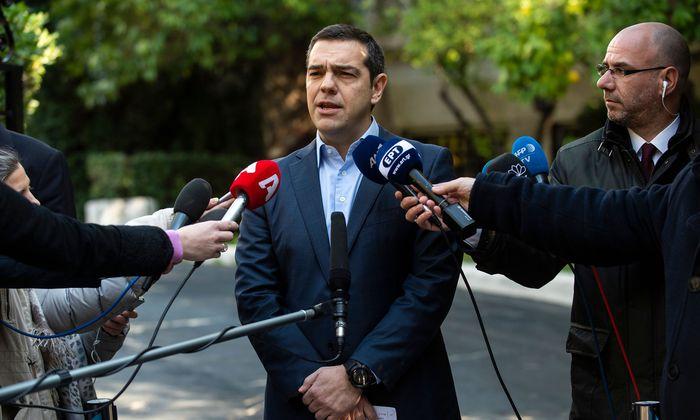 Schwierige Tage für Premier Tsipras: Diese Woche stellt er im Parlament die Vertrauensfrage.