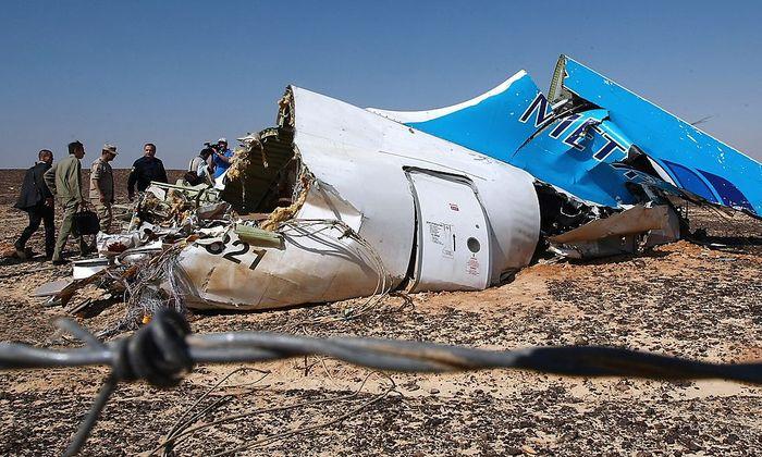 Ein Terrorakt steht hinter dem Absturz des Airbus A321 am 31. Oktober.