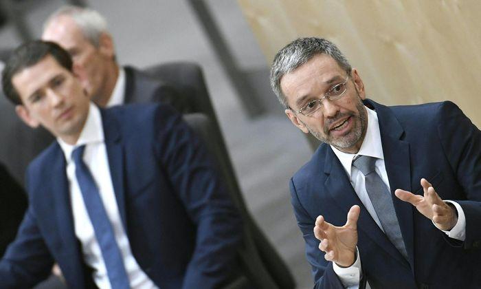 Sebastian Kurz und Herbert Kickl