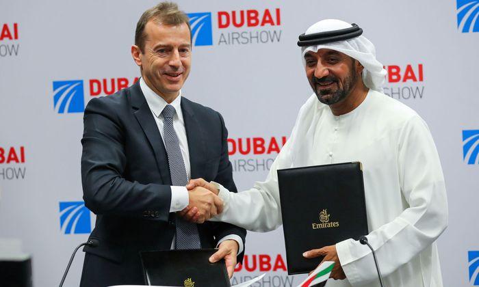 Fluglinie Emirates kauft 50 Airbus-Maschinen