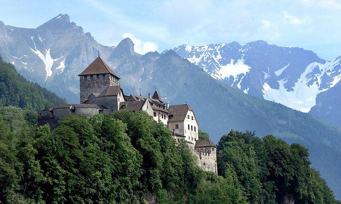 Liechtenstein, Schloss Vaduz