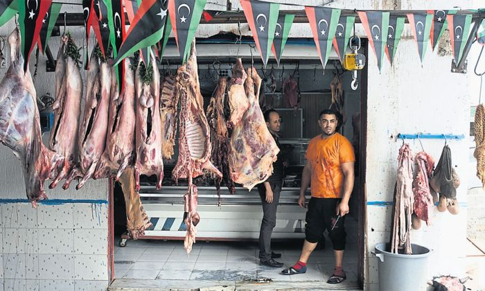 In vielen Ländern Nordafrikas und im Nahen Osten gibt es eine vorindustriell geprägte Wirtschaft.