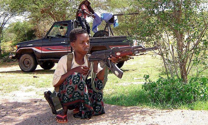 Kindersoldaten in Somalia