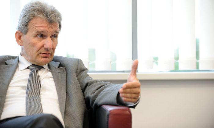 Gewerkschaftsbund-Präsident Erich Foglar