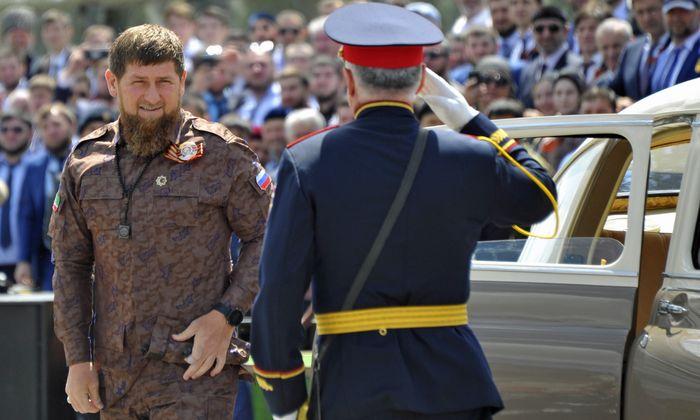 Republikschef Ramsan Kadyrow.