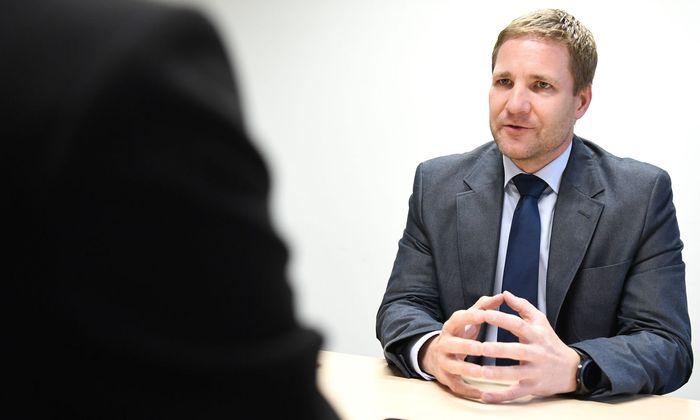 Fiskalratspräsident Gottfried Haber