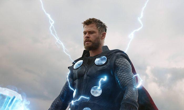 AVENGERS ENDGAME 2019 de Joe Russo et Anthony Russo Chris Hemsworth super heros superhero d apres