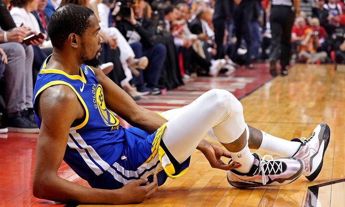 Kevin Durant wieder verletzt