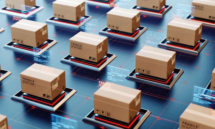 Mit Hilfe der Blockchain-Technologie könnten sich künftig Pakete ganz von allein den Weg zum Empfänger suchen.
