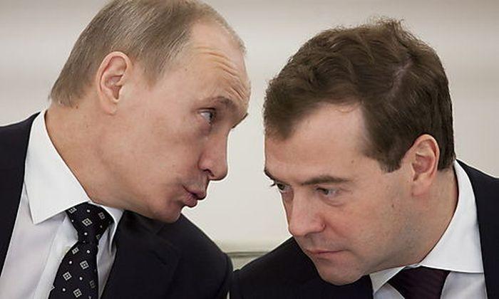 Russen wünschen sich Wahl-Duell Putin vs. Medwedjew