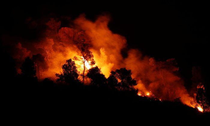 In Katalonien wüten die schlimmsten Waldbrände seit 20 Jahren