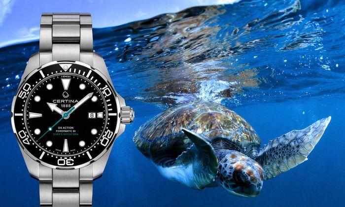 """""""DS Action Diver Sea Turtle Conservancy"""""""