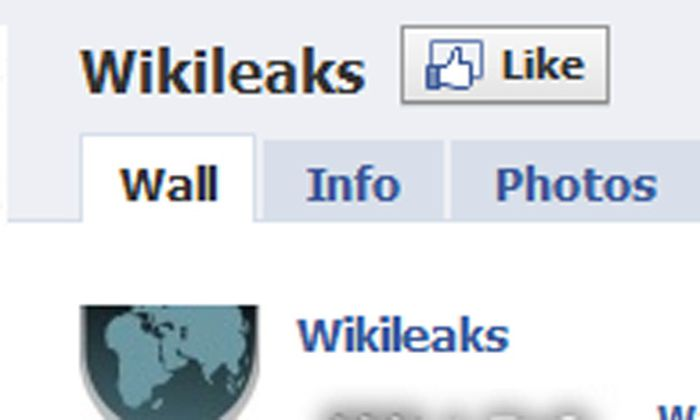 Facebook will Wikileaks noch