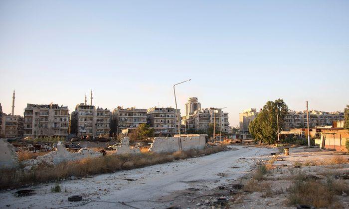 SYRIA-CONFLICT-ALEPPO-CORRIDORS