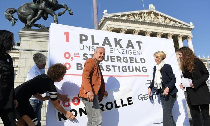 Peter Pilz - ein Bild aus Zeiten des Nationalratswahlkampfes