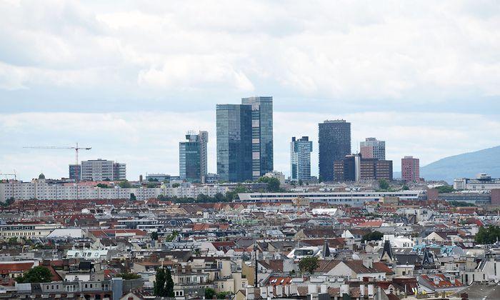 Neue Büros gibt es heuer nur in der Donaucity und am Wienerberg (Bild).