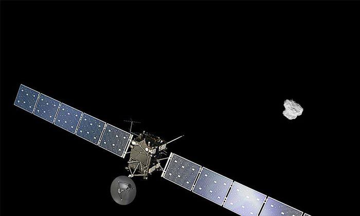 SPACE ROSETTA ARRIVES AT COMET