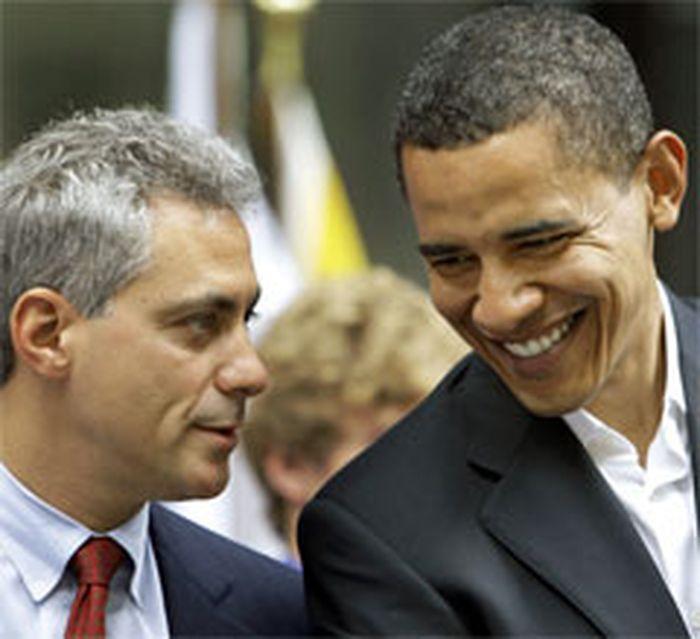 Barack Obama, Rahm Emanuel