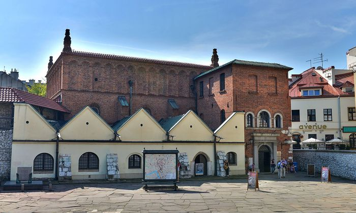Alte Synagoge Szeroka Krakau Polen Alte Synagoge Szeroka Krakau Polen