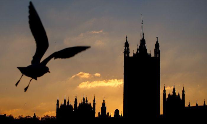 Blick auf das Parlament in London, Symbolbild