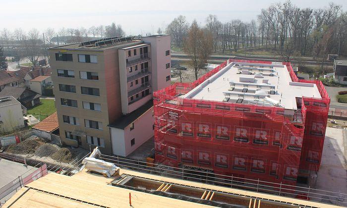 Ende 2021 wird das Bäumlequartier fertig sein.
