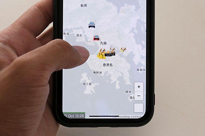 Apple im Visier: Anwendung hilft Demonstranten in Hongkong - Kritik von Peking