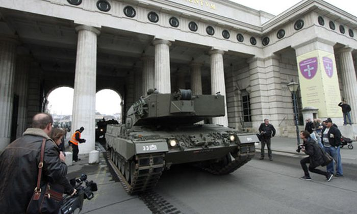 Bundesheer: Jeder zweite Panzer defekt