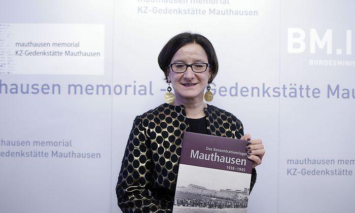 PRAeSENTATION 'AUSSTELLUNGSKATALOG MAUTHAUSEN': MIKL-LEITNER