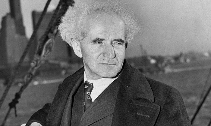 Taugt nicht als Opafigur für heute: David Ben-Gurion, Staatsgründer Israels.