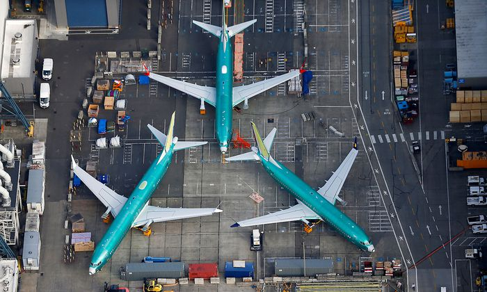 Symbolfoto der Boeing 737 Max