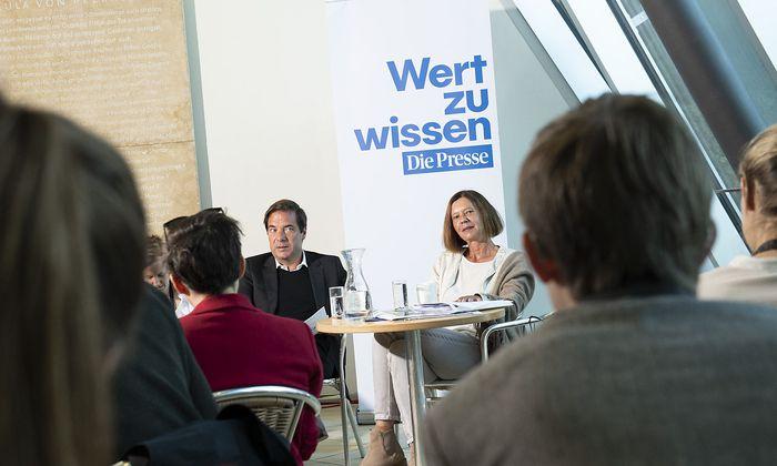 Rainer Nowak und Elisabeth Lovrek