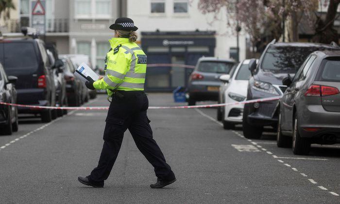 """Die britische Polizei stufte die Messerattacke als """"Terrorakt"""" ein (Symbolbild)"""
