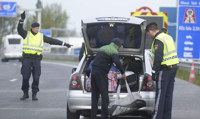 Burgenland: Temporäre Grenzkontrollen gestartet