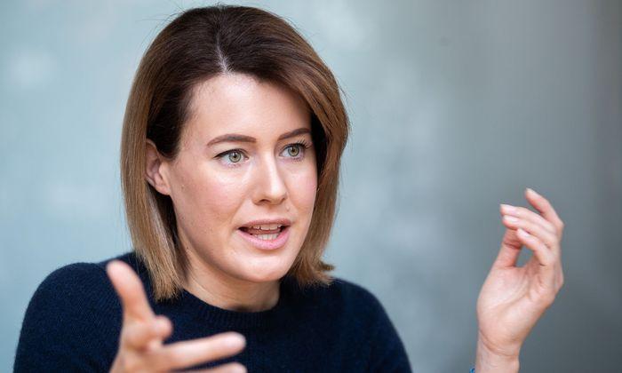 Neos-Spitzenkandidatin für die EU-Wahl, Claudia Gamon