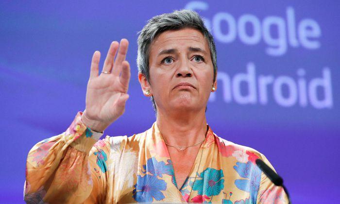 EU-Kommissarin Margrethe Vestager weist Google in die Schranken
