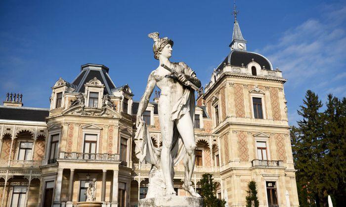 Mit der Hermesvilla wollte Kaiser Franz Joseph seine Frau, Sisi, länger in Wien halten.