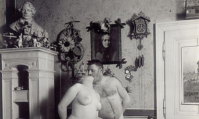 """Ausschnit aus """"Wiener Nackedeien"""" aus dem Jahr 1906."""